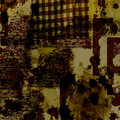 Grunge urban texture a digitally created style abstract with effects Royalty Free Stock Photos