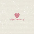 Grunge Valentines Day background Stock Photo