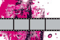 Grunge Vector Film Frame Royalty Free Stock Photo