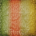 Grunge vintage multicoloured background Stock Images