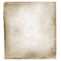 Grunge vintage old paper background illustration of aged worn and stained paper scrap texture for your design Royalty Free Stock Images