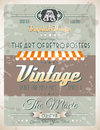 Grunge vintage retro page template for a variety of purposes website home old style flyers book covers or posters Stock Images