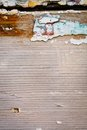 Grunge wall with peeling paint texture Royalty Free Stock Photo