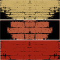 Grunge WALL  vector background Royalty Free Stock Photography