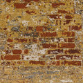 Grunge weathered brick wall red with gray white an Royalty Free Stock Photo