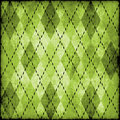Grungy argyle pattern Royalty Free Stock Images