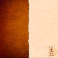 Grungy background with space for your text texture of the old paper the idea for the menu Royalty Free Stock Images