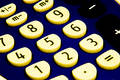 Grungy calculator Royalty Free Stock Photo