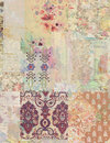 Grungy Collage Of Shabby Chic ...