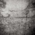 Grungy concrete wall as a background texture Stock Photos