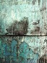 Grungy Dirty Green and Blue Wall Royalty Free Stock Photo