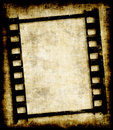 Grungy film strip or photo negative Stock Photo