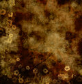 Grungy floral background Royalty Free Stock Images