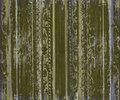 Grungy green scroll work wood stripes Royalty Free Stock Photo