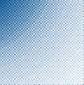Grungy halftone blue Stock Photography