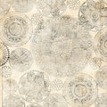 Grungy Lace Doiley Background Design Royalty Free Stock Photo