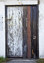 Grungy old door Royalty Free Stock Photo
