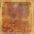 Viejo oxidado papel y textura