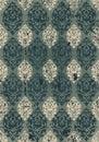 Grungy ottoman design Royalty Free Stock Photo