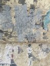 Grungy painted peeling wall industrial brick background Royalty Free Stock Photo