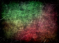 Grungy scratched multicolored texture as abstract background digitally generated image Stock Photography