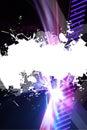 Grungy Splatter Layout Royalty Free Stock Photo
