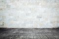 Grungy street wall Royalty Free Stock Photo