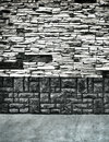 Grungy textured stone wall Stock Image