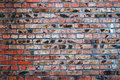 Grungy urban background of a brick wall Royalty Free Stock Photo