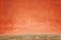 Grungy wall photo fragment of old Royalty Free Stock Photo