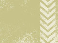 A grungy and worn hazard stripes texture Royalty Free Stock Photo
