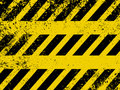 A grungy and worn hazard stripes texture. EPS 8 Royalty Free Stock Image