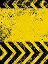 A grungy and worn hazard stripes texture. EPS 8 Royalty Free Stock Photo