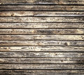 Grungy yellow wooden wall Royalty Free Stock Photo