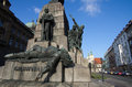 Grunwald Monument, Krakow, Poland Stock Photo