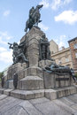 Grunwald monument plac matejki krakow poland Stock Photos