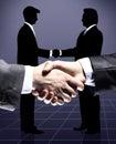 Grupo de hombres de negocios Imagen de archivo