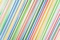 Gruppo di paglia colorata Fotografie Stock