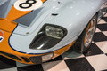 Ford Gt 40 gulf front end Royalty Free Stock Photo