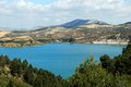 Guadalhorce Lake near Ardales, Spain. Stock Photography