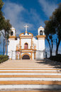 Guadalupe church, San Cristobal de las Casas (Mex) Royalty Free Stock Image