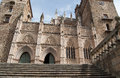 Guadalupe monastery medieval in cáceres spain Royalty Free Stock Photography