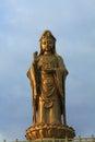 Guan yin buddhism nan hai at putuo moutain Stock Image