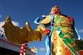 Guan yu the chinese god of war chinese mythology Stock Photo