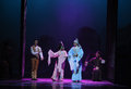 Guangdong opera the first act of dance drama shawan events of the past town is hometown ballet music focuses on historical Royalty Free Stock Photos