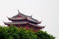 Guangji gatetower a of chaozhou city in china Royalty Free Stock Photos