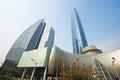 The Guangzhou International Finance Center (GZIFC) Royalty Free Stock Photo