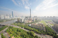 Guangzhou Pearl river, Canton TV Tower Royalty Free Stock Photography
