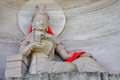 Guanyin bodhisattva avalokitasvara statue in lingyun mountain grottoes nanchong sichuan china Royalty Free Stock Photography