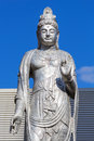 Guanyin statue at hiroshima central park chuo koen Royalty Free Stock Image